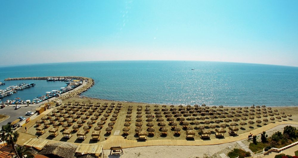 Kastella Beach, photo courtesy of the Larnaka Tourism Board