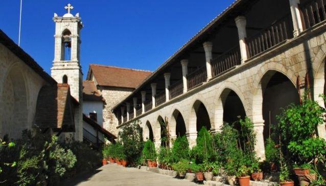 Chrysoroyiatissa Monastery