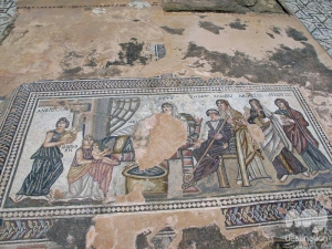 Mosaic in the House of Theseus