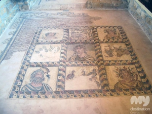 Four Seasons Mosaic in the House of Dionysus
