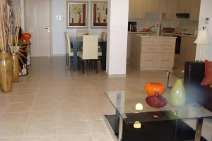 Apartment's Kitchen and Dinning area