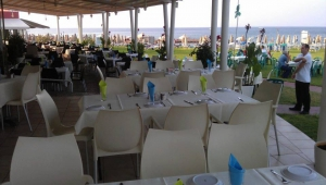 The restaurant outdoors