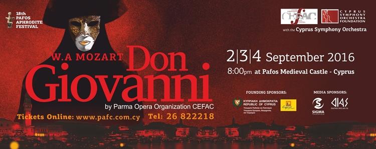 18th Pafos Aphrodite Festival - Don Giovan