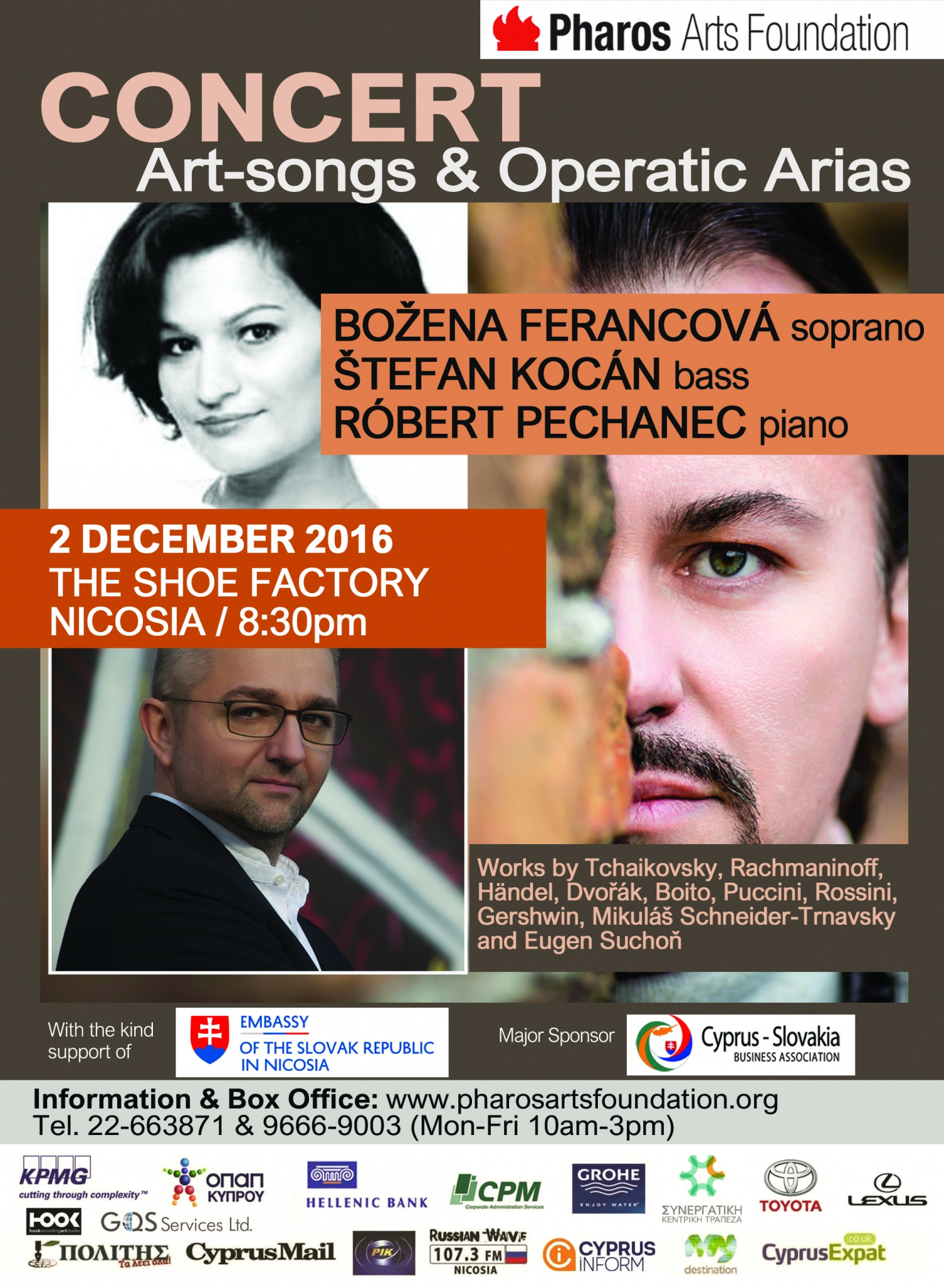Concert: An evening of Art-songs & Operatic arias