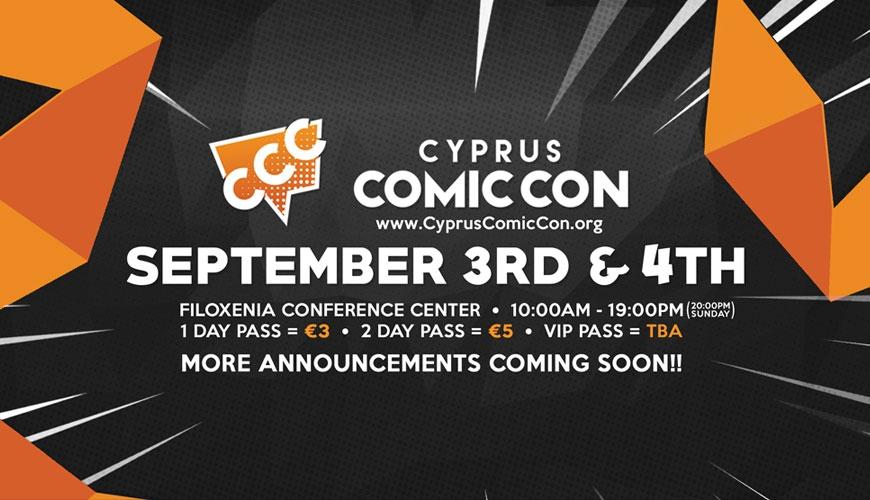 Cyprus Comic Con 2016