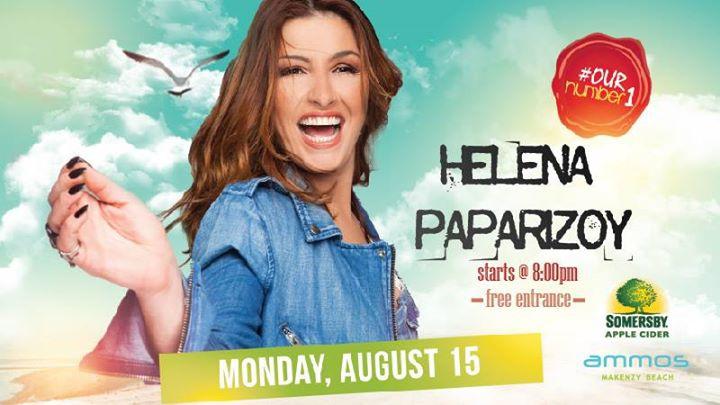 Helena Paparizou Live   Monday 15 August