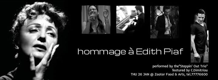 Hommage ? Edith Piaf - (Steppin' Out Trio)