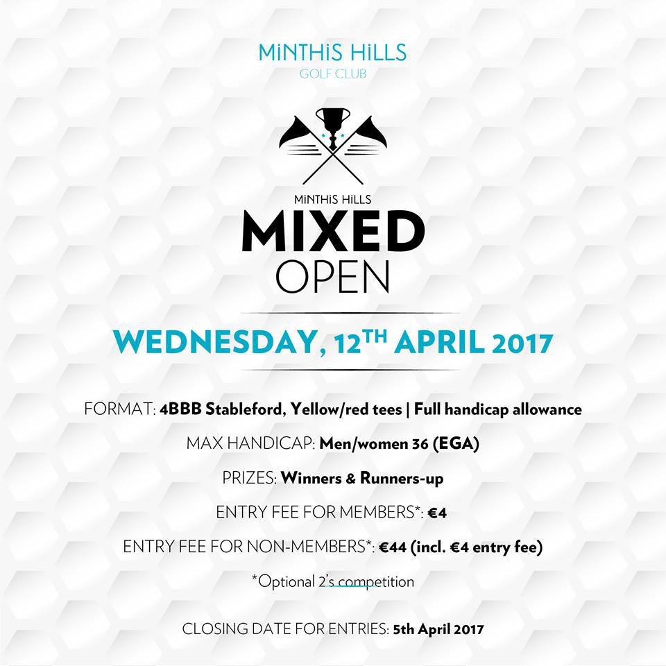 Minthis Hills Golf Club Mixed Open