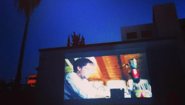 Open - air cinema at Technopolis 20