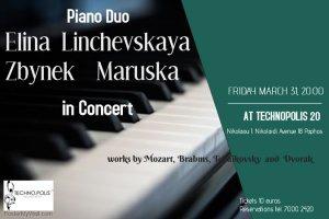 Piano Duo: Elina Linchevskaya & Zbynek Maruska