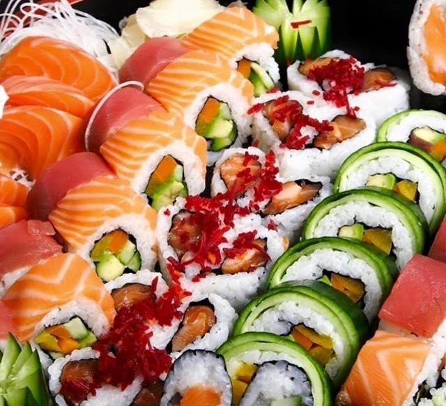 Sushi and Asian nights at Rebuke Lounge