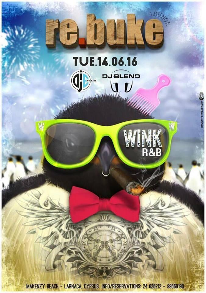 Wink R&B night at Rebuke