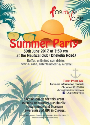 Charity Summer Party!