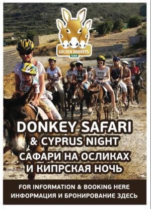 Donkey Safari & Cyprus Feast