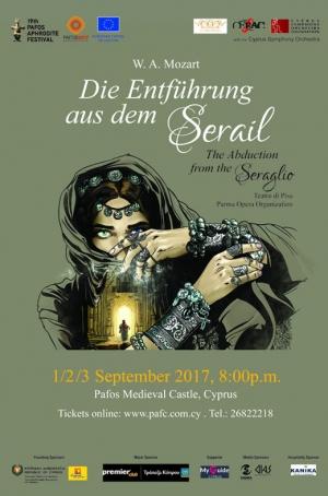 Pafos Aphrodite Festival 2017 - Die Entführung aus dem Serail (The abduction from the Seraglio)