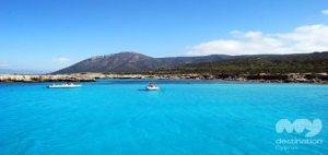 Blue Lagoon, Akamas. photo copyright My Destination Cyprus