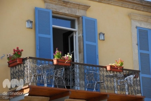 Hotel Balcony, Larnaka by Christina Kyriakou