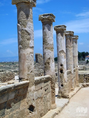House of Theseus, Pafos © My Destination Cyprus