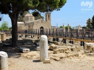 St Pauls Pillar, Pafos © My Destination Cyprus