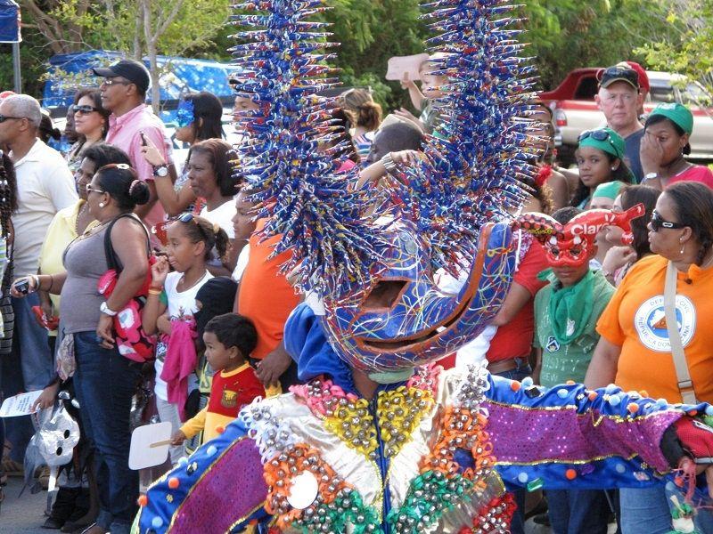 """""""Lechones"""" mask from Santiago de los Caballeros"""