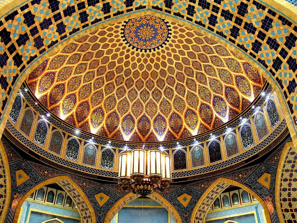 Islamic Art, IbnBatuta Mall (Photo credits: Suwaif, Flickr)