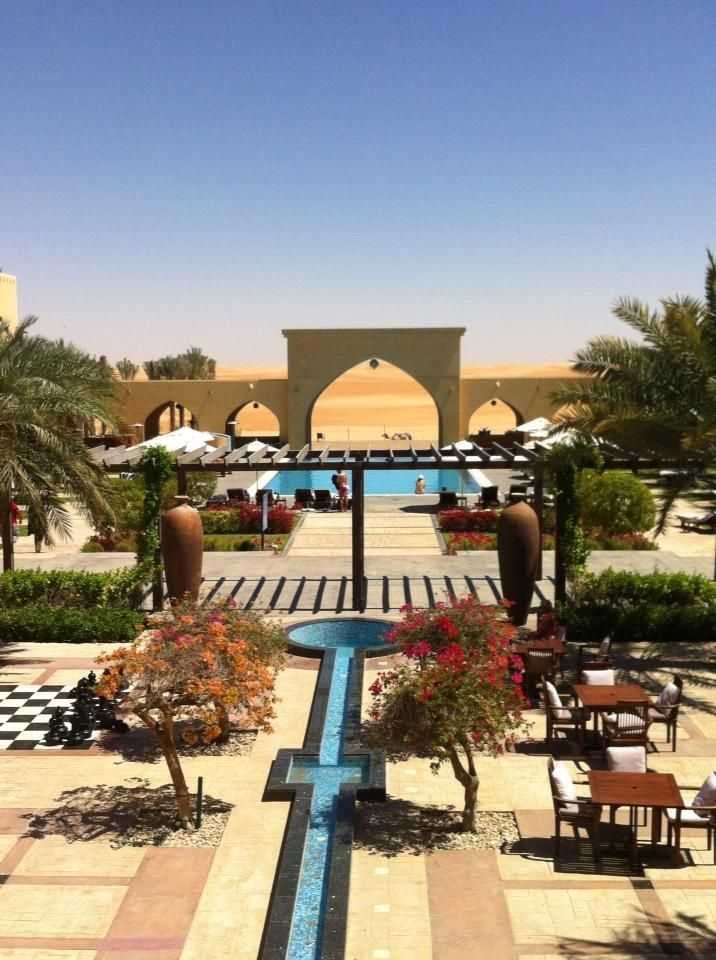 Tilal Liwa Hotel (Photo credits: Jennie Bishop)