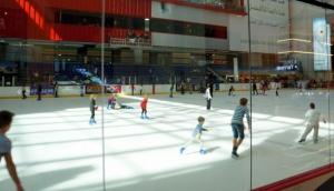 Put your ice skates on