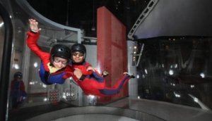 Give skydiving a go - indoors