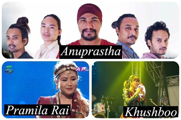 Anuprastha, Pramila Rai & Khushboo Pradhan live in Dubai.