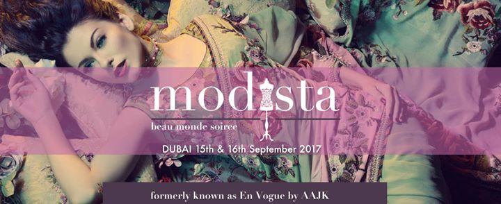 Modista - Dubai - 15th & 16th September 2017