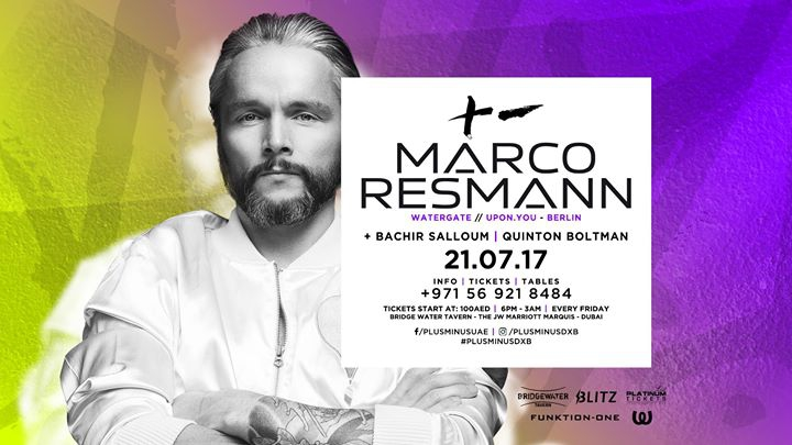 Plus Minus Summer Sessions w/ Marco Resmann
