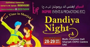 Dandiya Nights & Diwali Shopping Bazaar 2017