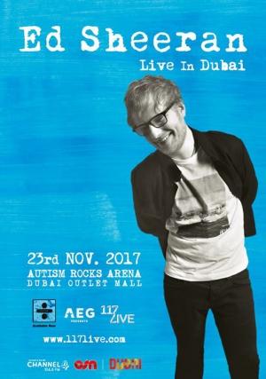 Ed Sheeran Live in Dubai