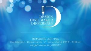 Surge Dubai Gala: Design, Dine, make a Difference