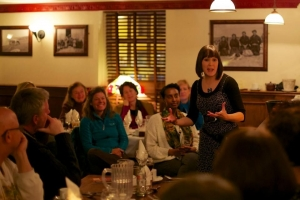 An Evening of Food, Folklore and Fairies (photo by John Fahy of Dalkey Photos)