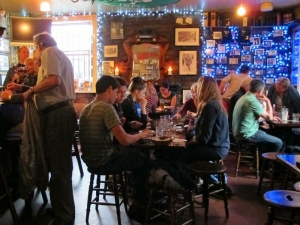 An Evening of Food, Folklore and Fairies - A peek downstairs in The Brazen Head