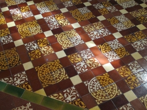 Christ Church Cathedral - Floor Detail