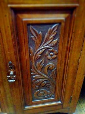 Christy Bird - Edwardian Sideboard Door Detail