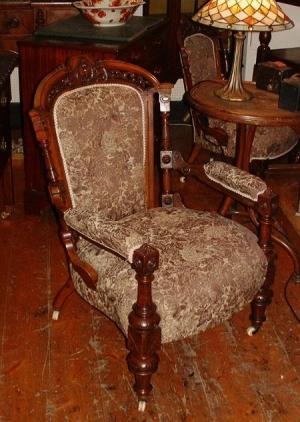 Christy Bird - Victorian Gentleman's Chair