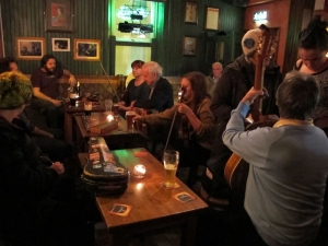 Devitt's - Trad Session, 'Upstairs at An Poc Fada'
