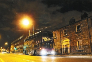 The Dublin GhostBus Tour (on New Bride Street)