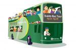 Dublin Sightseeing Hop-on Hop-off Bus Tour