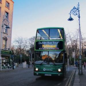 Hop-on Hop-off Bus Tour - near St Stephen's Green (Stop 7)