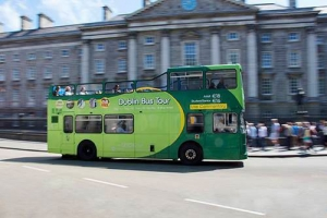 Hop-on Hop-off Bus Tour - Trinity College (Stop 3)