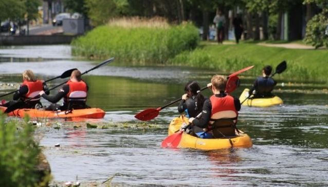 Extreme Time-Off - Grand Canal Kayaking