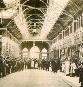 George's Street Arcade back in the day...