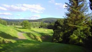 Grange Golf Club - View of Dublin Mountains