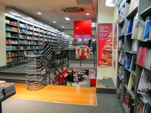 Hodges Figgis - head downstairs for the Bargains