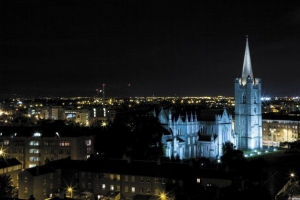 Radisson Blu Royal Hotel Dublin - View of St Patrick's Cathedral from the Hotel
