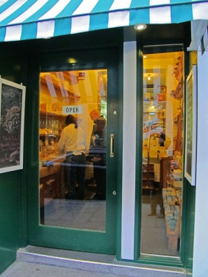Sheridans Cheesemongers - the doorway to yumminess...
